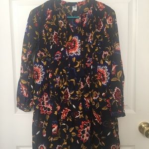 Old Navy above the knee cotton print dress